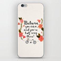 Believe iPhone & iPod Skin