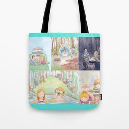 Our Camping Trip Tote Bag