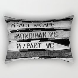 The Pallets Of Kaapstad Rectangular Pillow