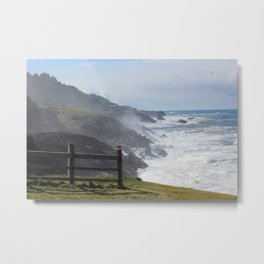 Coastal Torrent Metal Print