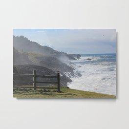 Coastal Torrent Metal Print