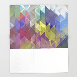 Lovely Triangle No. 2 Throw Blanket