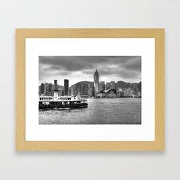 Ferry & Sky Framed Art Print