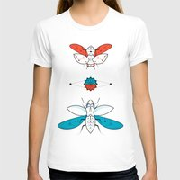 insects T-shirts featuring Two Insects II by Ukko