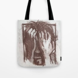 Portrait of Richard Weiss Tote Bag