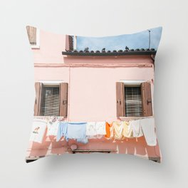 Burano, IV Throw Pillow
