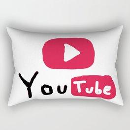 Only for Youtuber - YouTube lover best design Rectangular Pillow