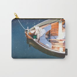 Nautical Fine Art Photography Boat in Water Carry-All Pouch