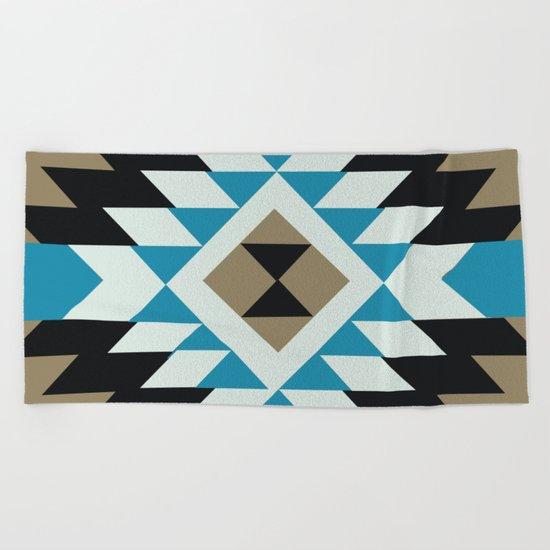 American Native Pattern No. 25 Beach Towel