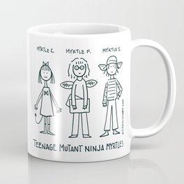 Ninja Myrtles Coffee Mug