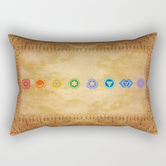 Chakras Kali | Beyond the time  Rectangular Pillow