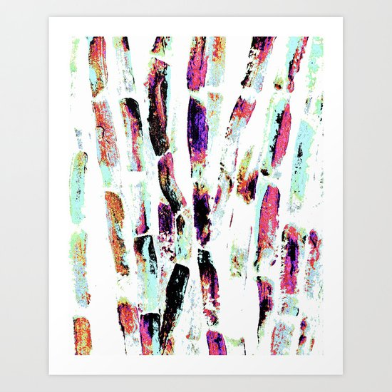 Rainbow Candy Sugar Cane, Spring, First World Problems Art Print
