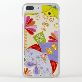 Mandala Ganesh Clear iPhone Case