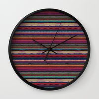 desert Wall Clocks featuring Desert by spinL