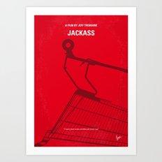 No444 My Jackass minimal movie poster Art Print