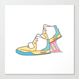 Sneakers Chewing Gum Canvas Print