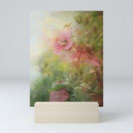 Soft Pink Roses of Sharon Mini Art Print