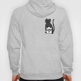 Cute Cat with Vote Sign Hoody