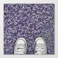 converse Canvas Prints featuring Converse by LoR.