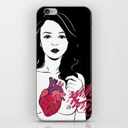 My heart is exploding iPhone Skin