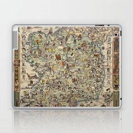 Map of Ireland Laptop & iPad Skin