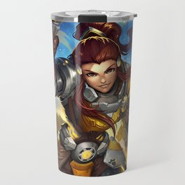 over brigette watch Travel Mug