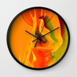 Needle Birds Wall Clock