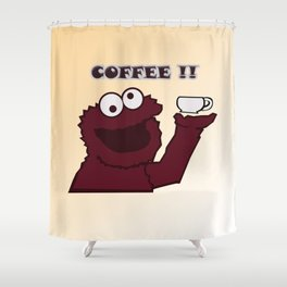 COFFEE!!!! Shower Curtain