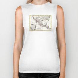 Map of Mexico, Texas, Louisiana and Florida - Bonne - 1771 Biker Tank