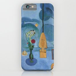 The Blue Window, Issy-les-Moulineaux, 1913 by Henri Matisse, Artwork Design, Poster Tshirt, Tee, Jer iPhone Case