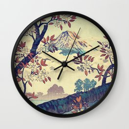 Suidi the Heights Wall Clock