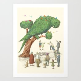 The Parrot Tree Art Print