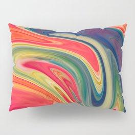 Colored Swirls 13 Pillow Sham