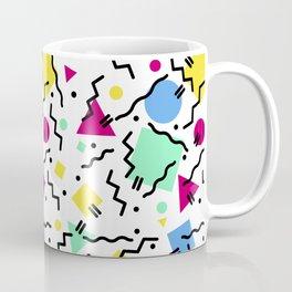 Memphis Geometric Shapes Coffee Mug