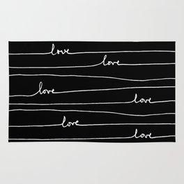Love. Love. Love Rug