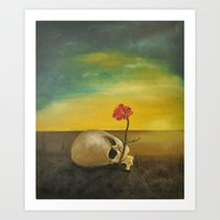 Where there is Death, there is Life Art Print