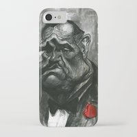 godfather iPhone & iPod Cases featuring The Godfather by MK-illustration