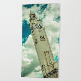 Tour de l'Horloge Beach Towel