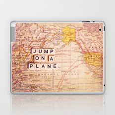 jump on a plane Laptop & iPad Skin
