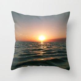 Lake Semash Throw Pillow