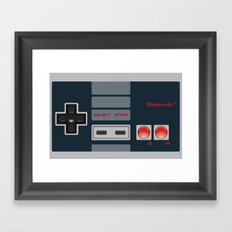 control Framed Art Print