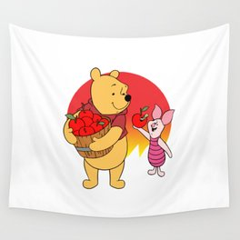 The Pooh Wall Tapestry