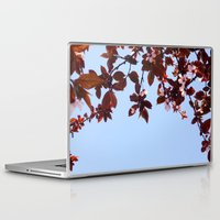 cherry blossom Laptop & iPad Skins featuring Cherry Blossom by madbiffymorghulis