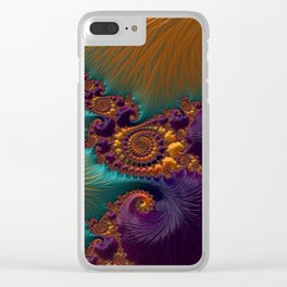 Legend of the Sea Clear iPhone Case
