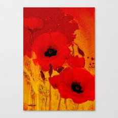 FLOWERS - Mellow yellow Canvas Print