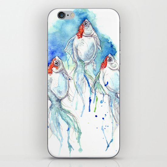 Goldfish Series - Orandas iPhone Skin