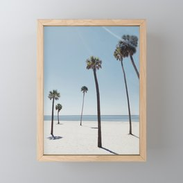 Palm trees 7 Framed Mini Art Print