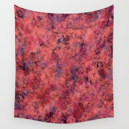 Coral Clouds Wall Tapestry