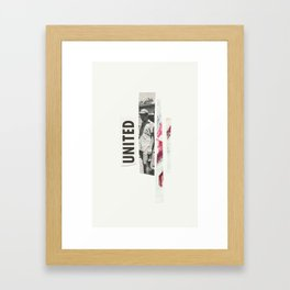 united. Framed Art Print