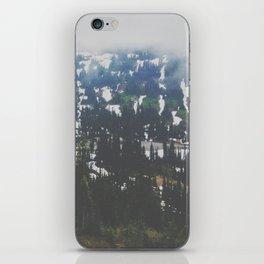Mount Rainier in July iPhone Skin
